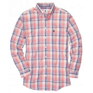 Southern Shirt - Madras Red